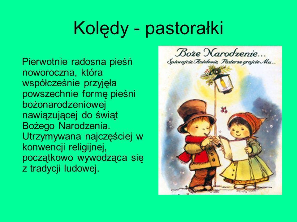 Kolędy - pastorałki