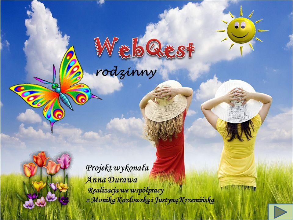 WebQest rodzinny Projekt wykonała Anna Durawa