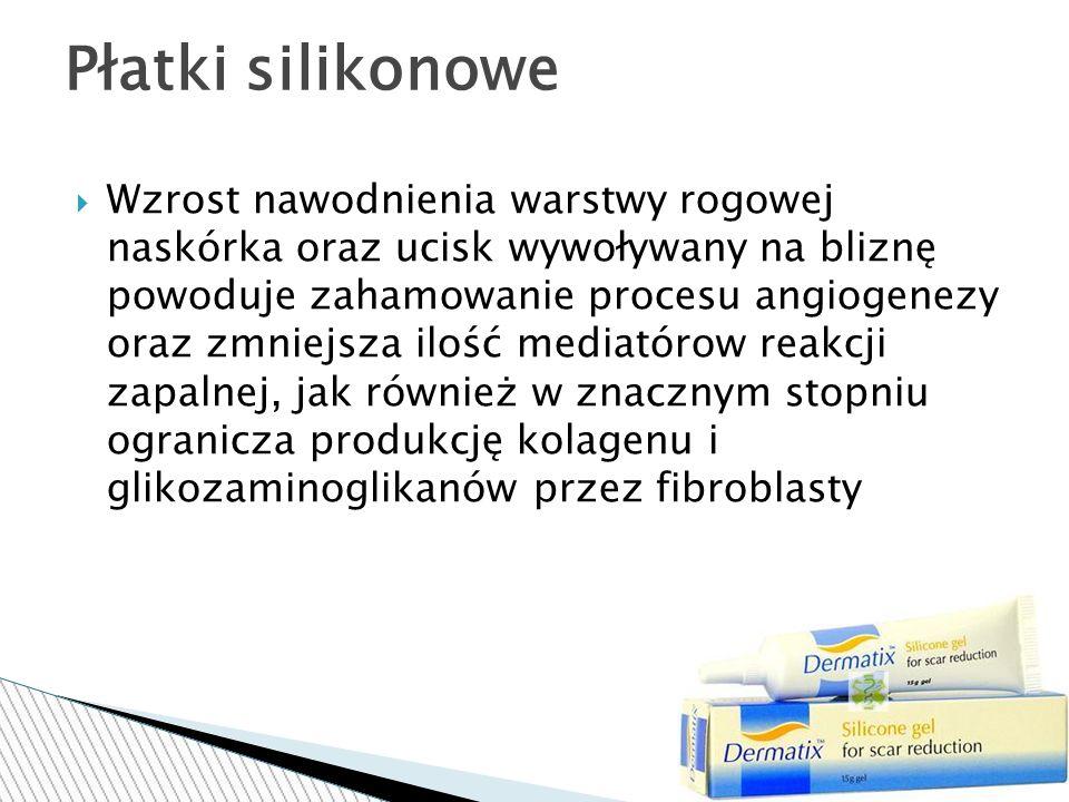 Płatki silikonowe