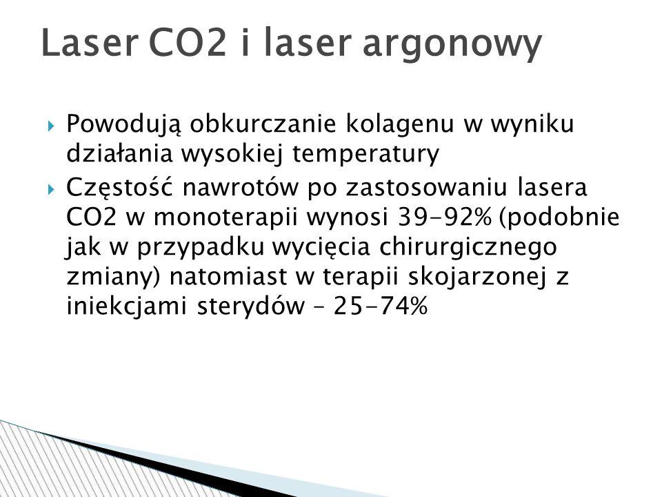 Laser CO2 i laser argonowy