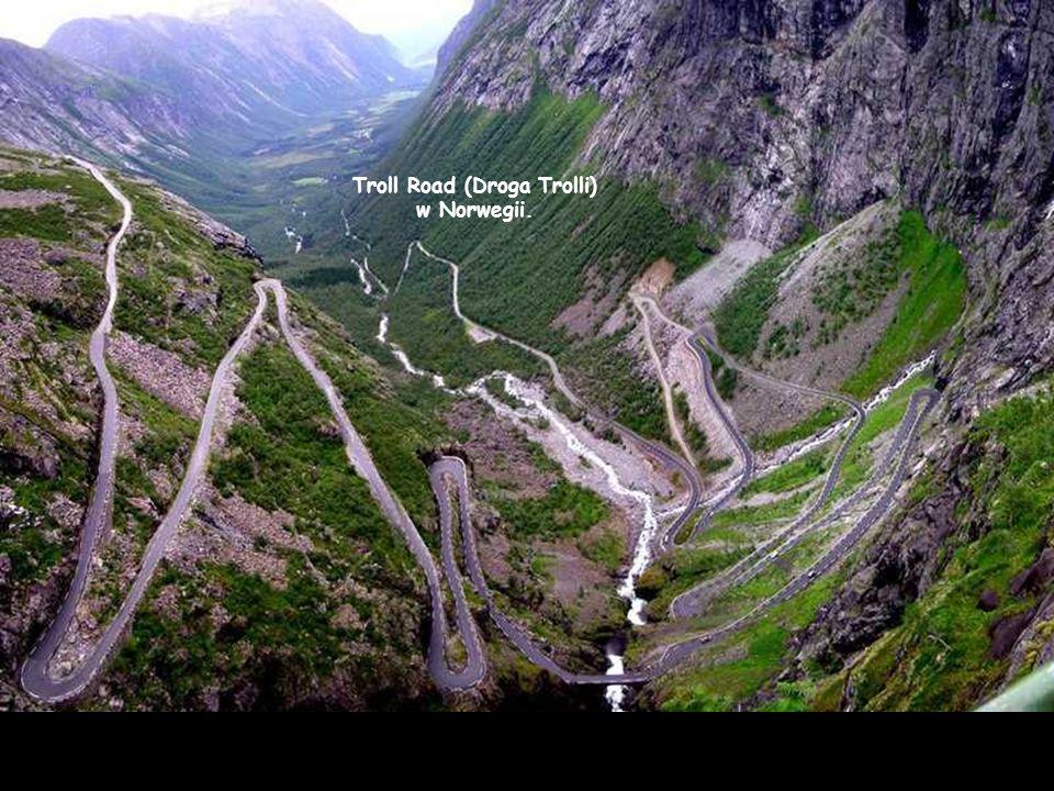 Troll Road (Droga Trolli) w Norwegii.