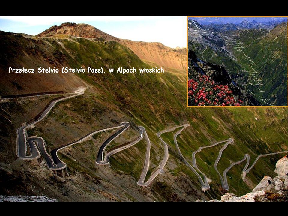 Przełęcz Stelvio (Stelvio Pass), w Alpach włoskich