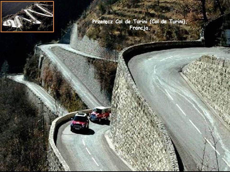 Przełęcz Col de Turini (Col de Turini), Francja.