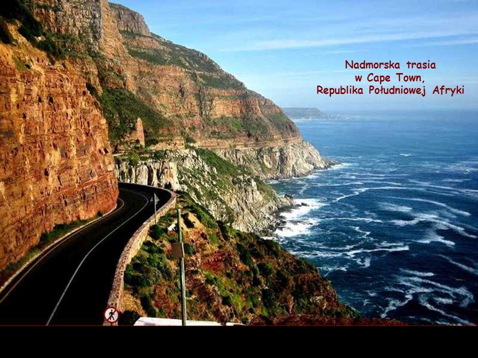 Nadmorska trasia w Cape Town, Republika Południowej Afryki