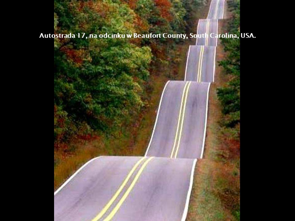 Autostrada 17, na odcinku w Beaufort County, South Carolina, USA.
