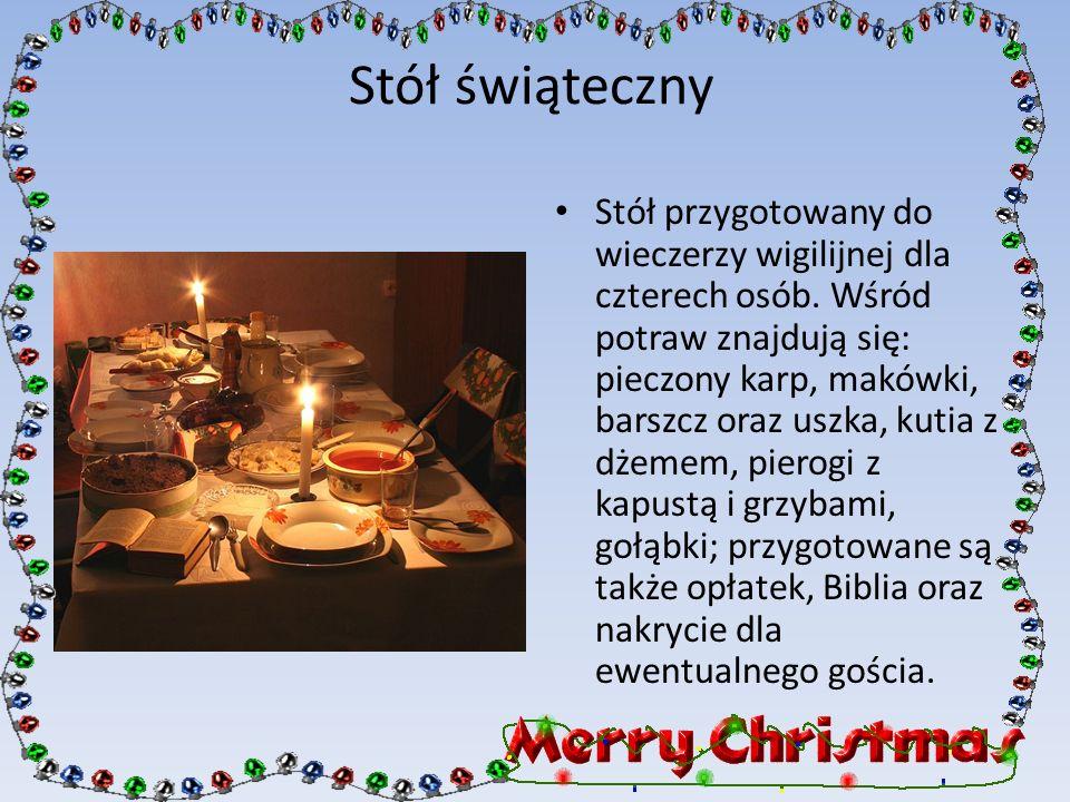 Stół świąteczny