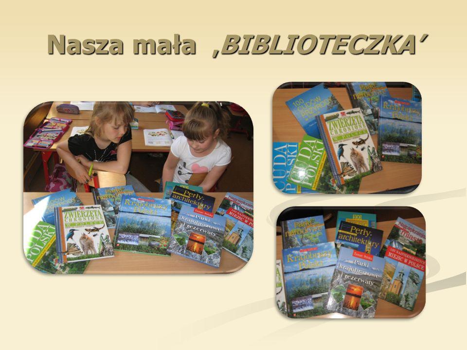Nasza mała 'BIBLIOTECZKA'
