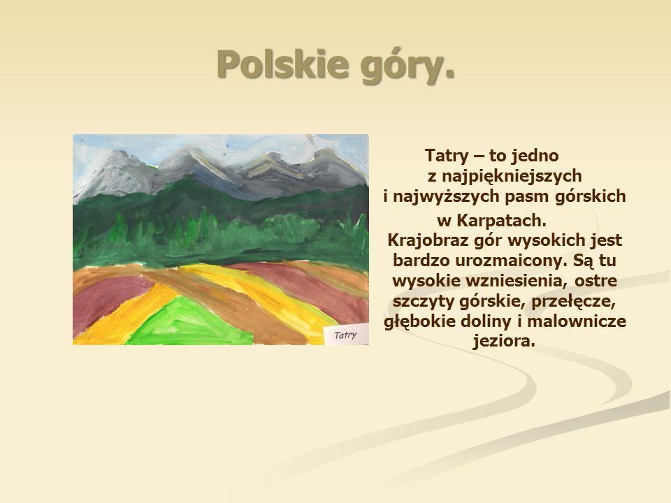 Polskie góry.