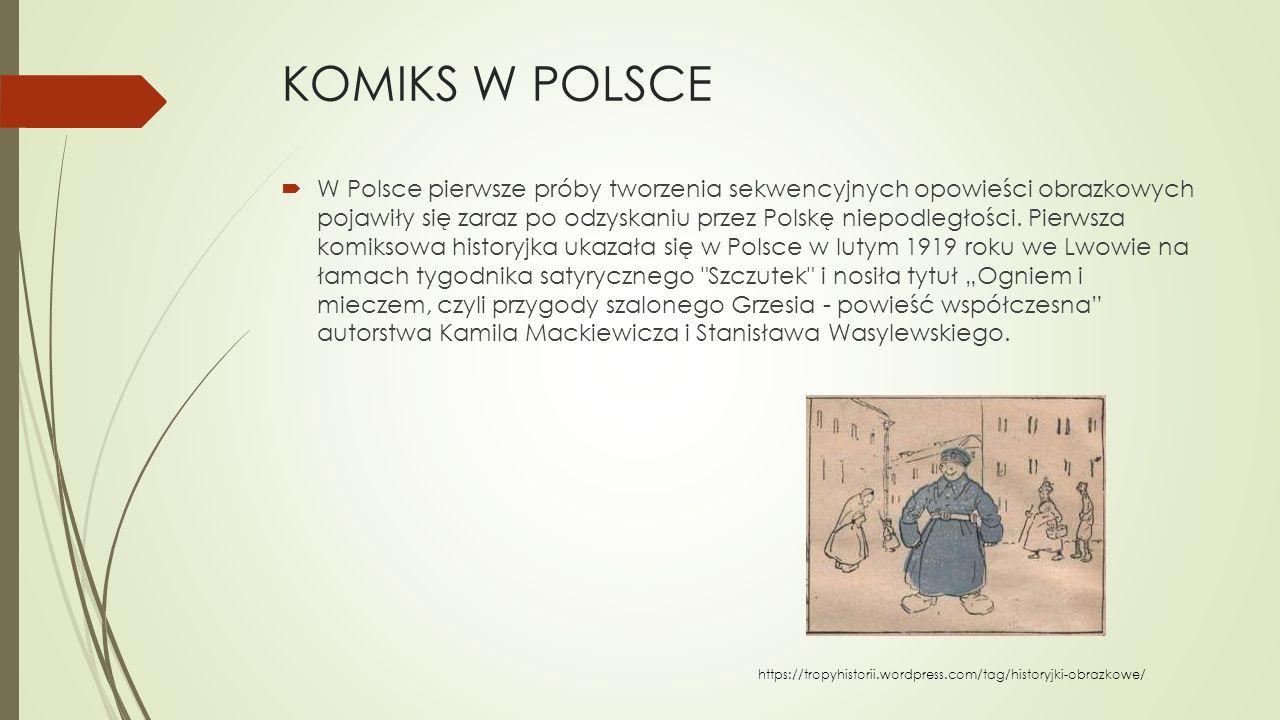 KOMIKS W POLSCE