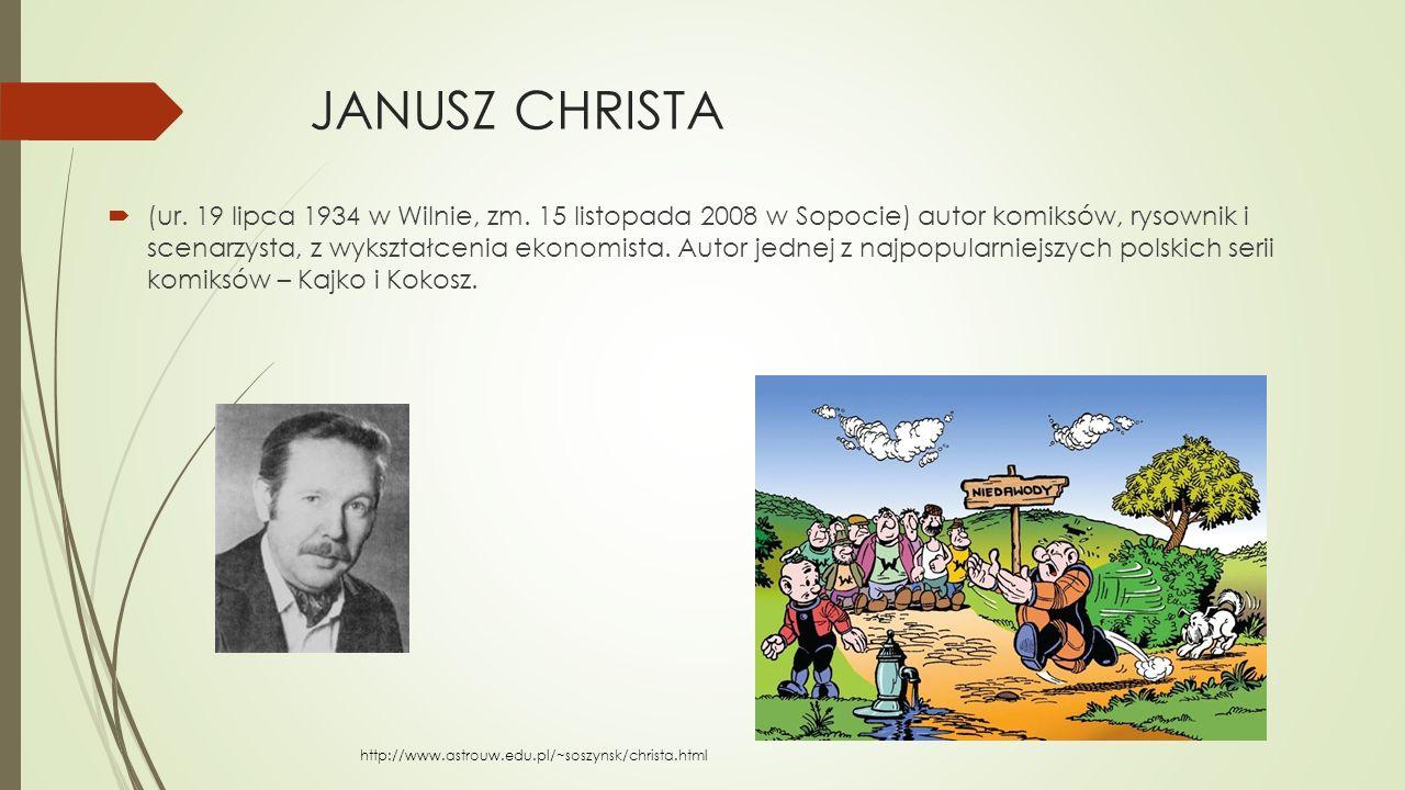 JANUSZ CHRISTA