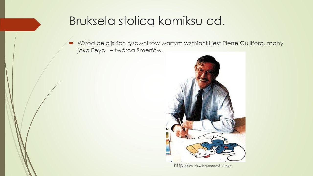 Bruksela stolicą komiksu cd.