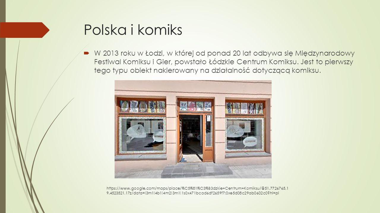Polska i komiks