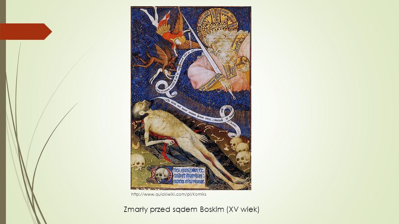 Zmarły przed sądem Boskim (XV wiek)