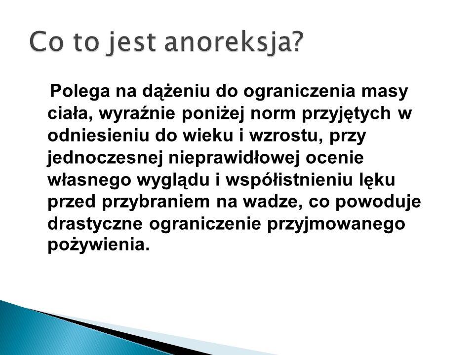 Co to jest anoreksja