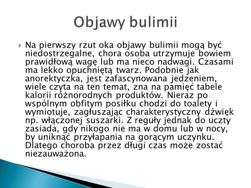 Objawy bulimii