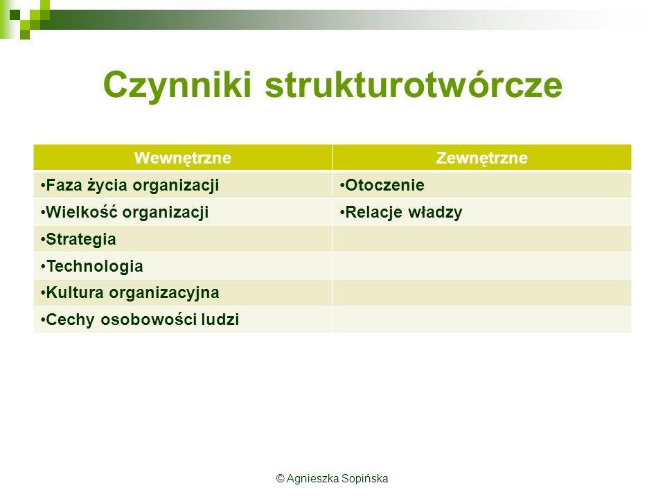 Czynniki strukturotwórcze