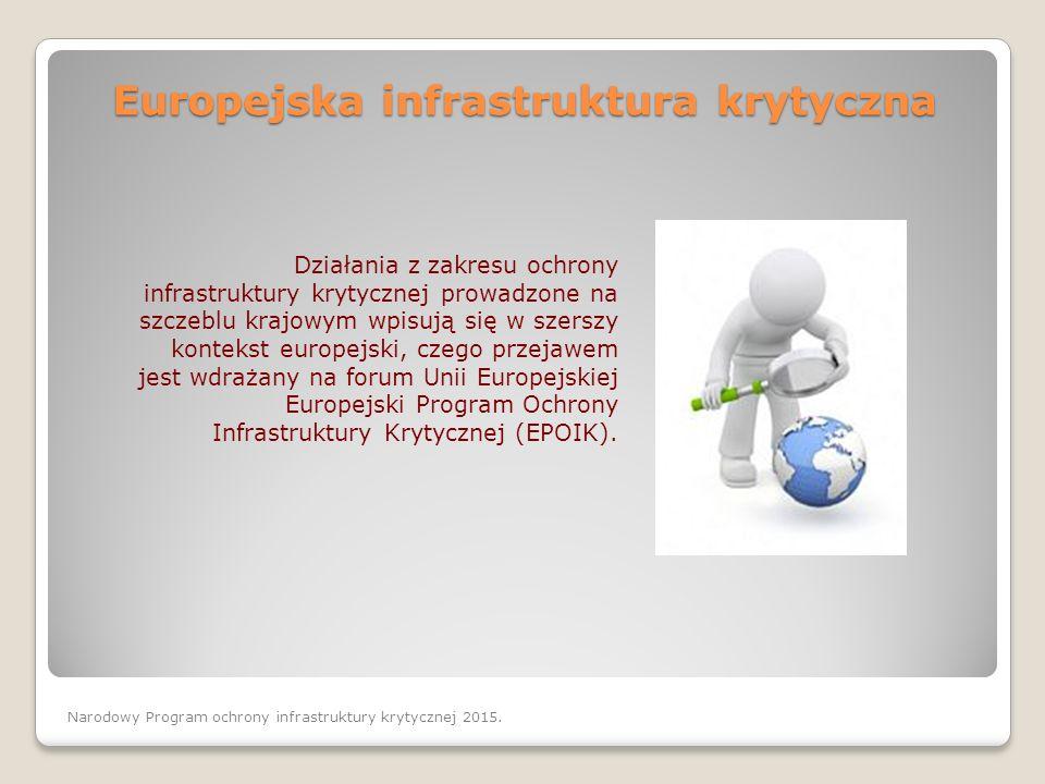 Europejska infrastruktura krytyczna