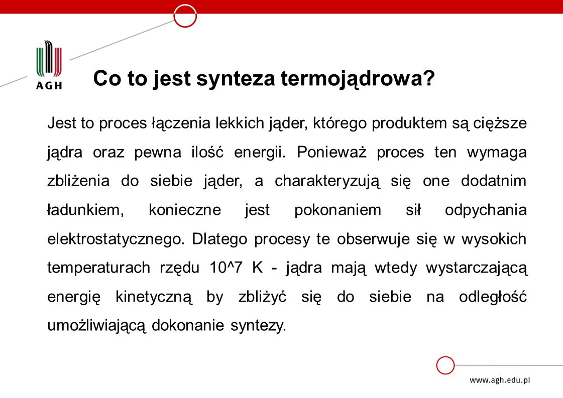 Co to jest synteza termojądrowa