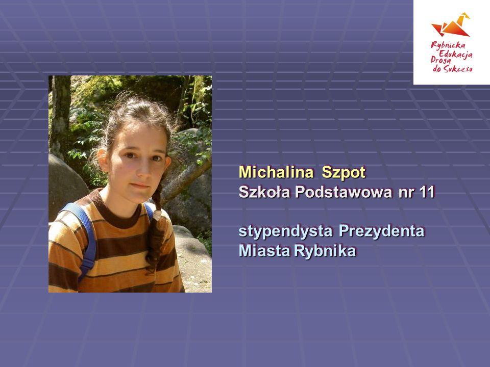 Michalina Szpot Szkoła Podstawowa nr 11