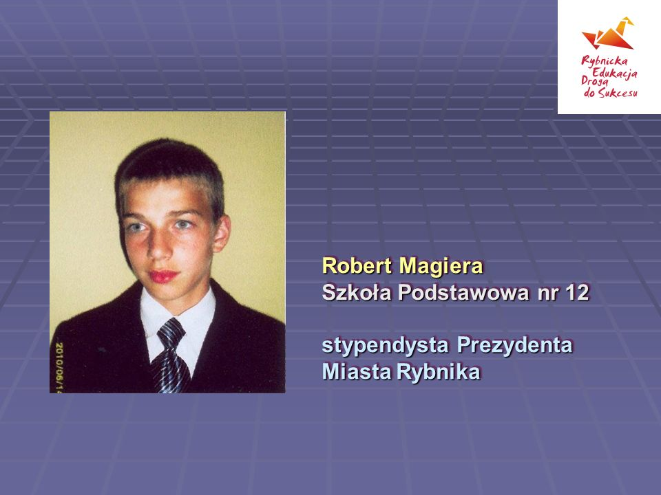 Robert Magiera Szkoła Podstawowa nr 12