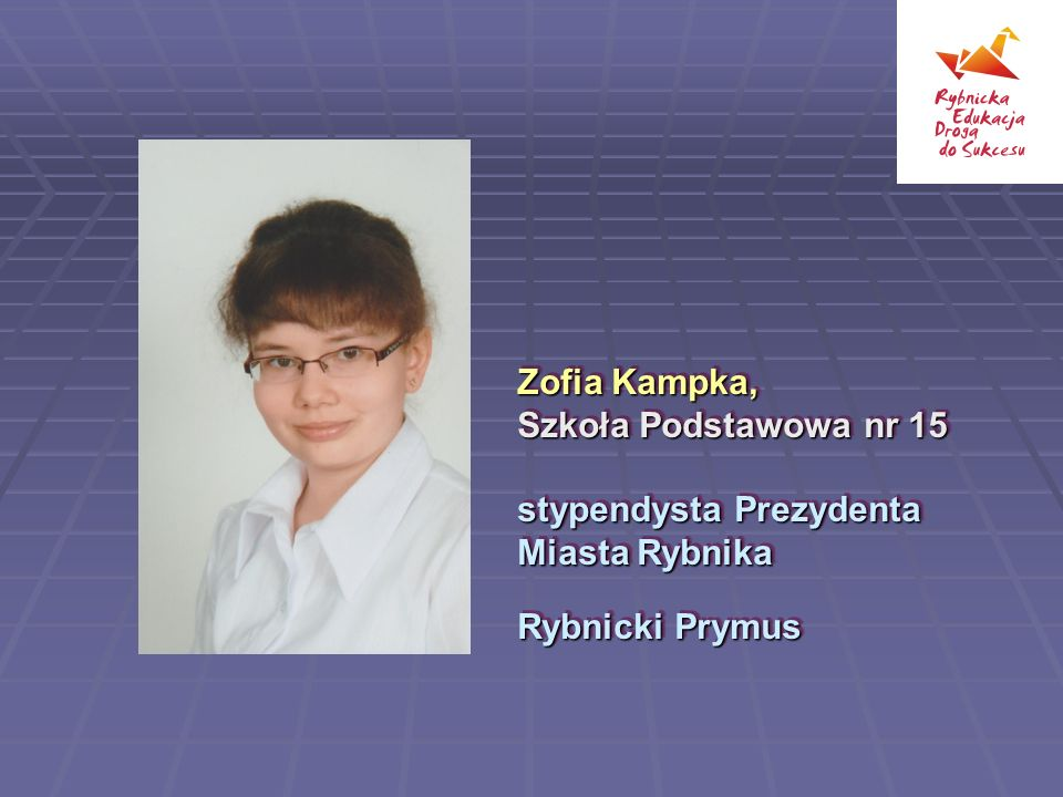 Zofia Kampka, Szkoła Podstawowa nr 15