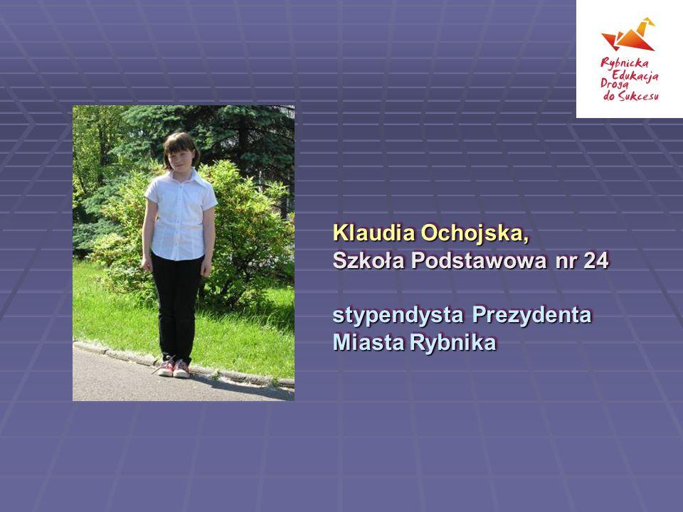 Klaudia Ochojska, Szkoła Podstawowa nr 24