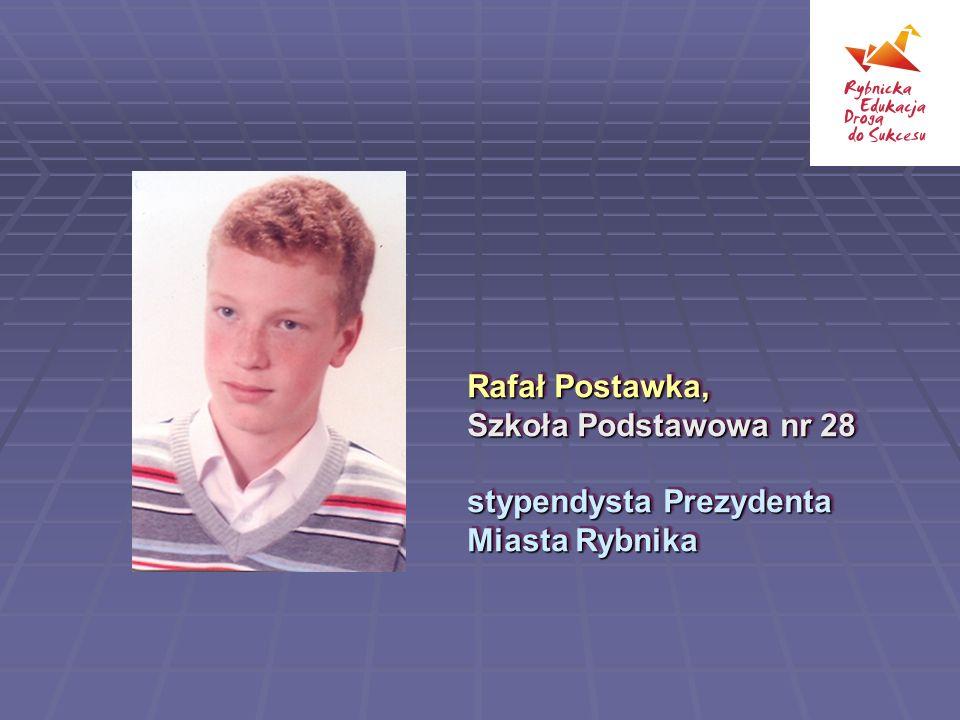 Rafał Postawka, Szkoła Podstawowa nr 28