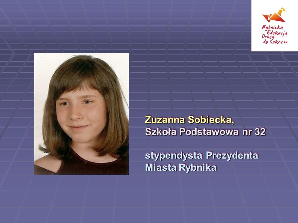 Zuzanna Sobiecka, Szkoła Podstawowa nr 32