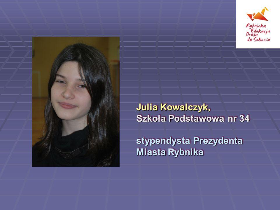 Julia Kowalczyk, Szkoła Podstawowa nr 34