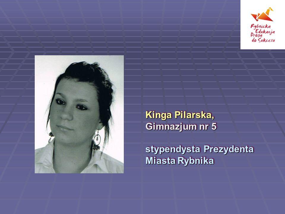 Kinga Pilarska, Gimnazjum nr 5