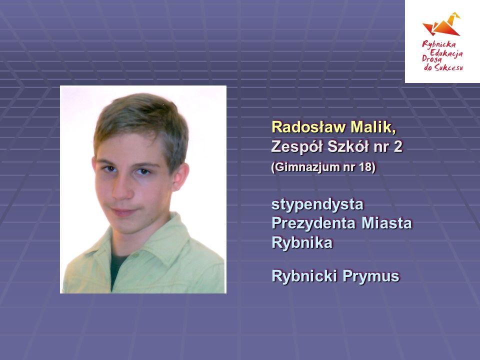 Radosław Malik, Zespół Szkół nr 2