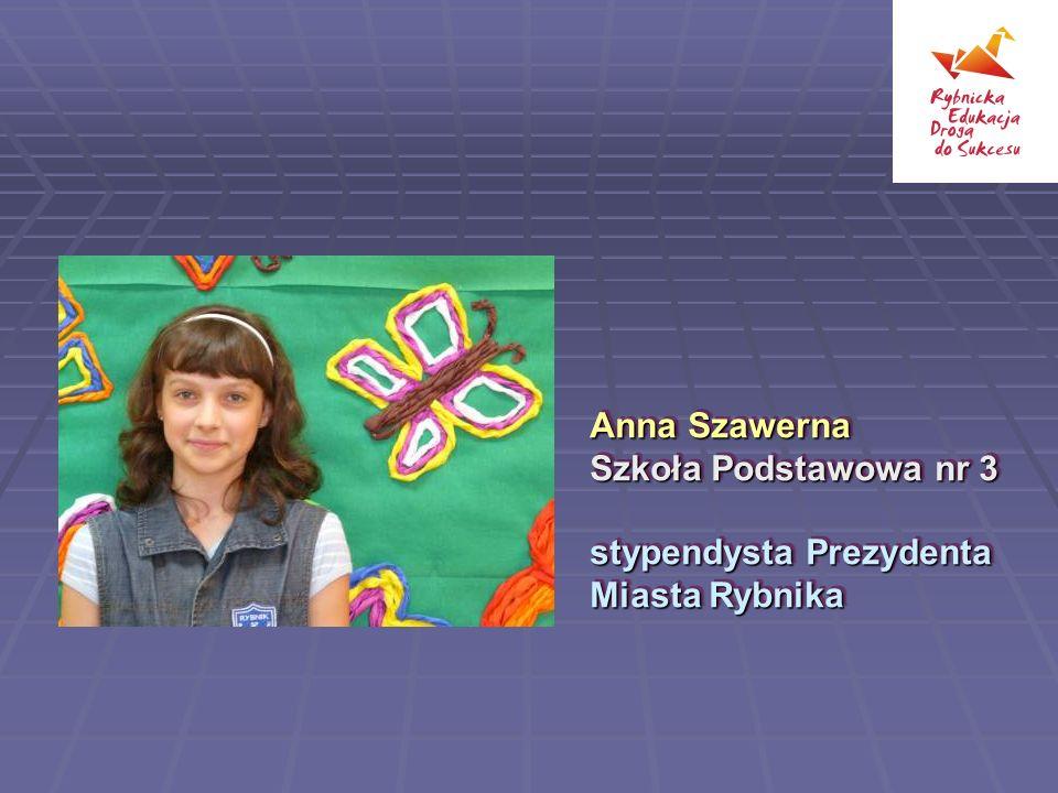 Anna Szawerna Szkoła Podstawowa nr 3