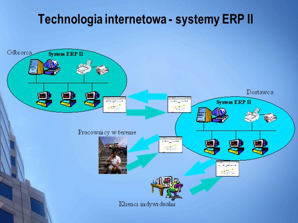 Technologia internetowa - systemy ERP II