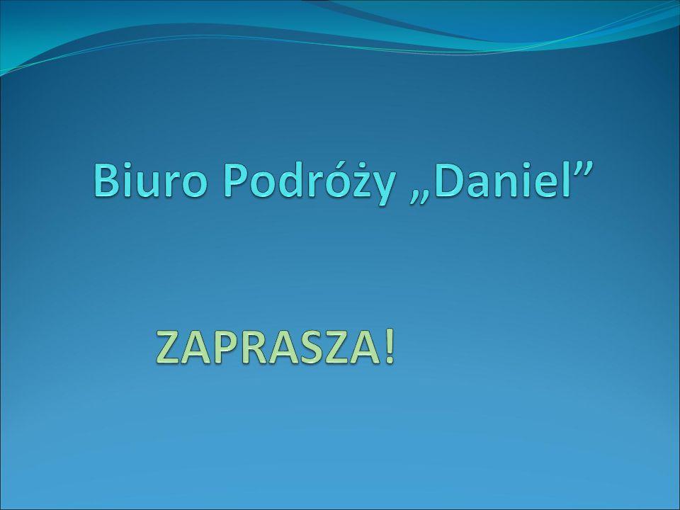 """Biuro Podróży """"Daniel"""