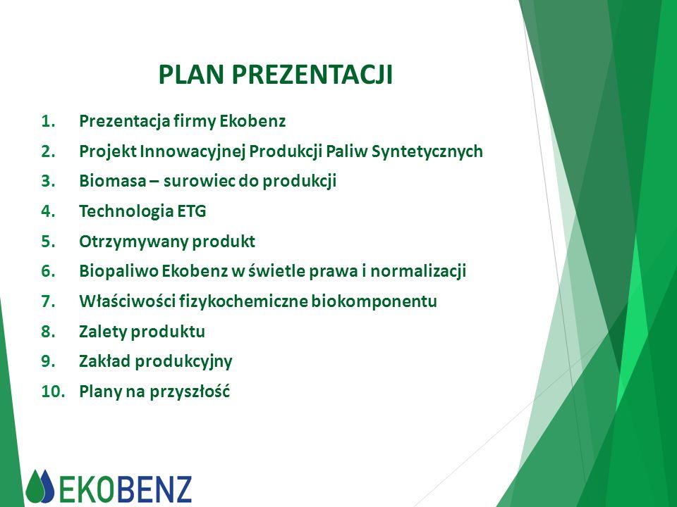 PLAN PREZENTACJI Prezentacja firmy Ekobenz
