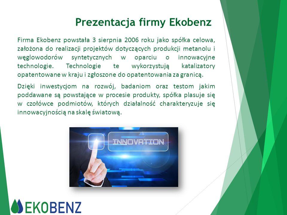 Prezentacja firmy Ekobenz
