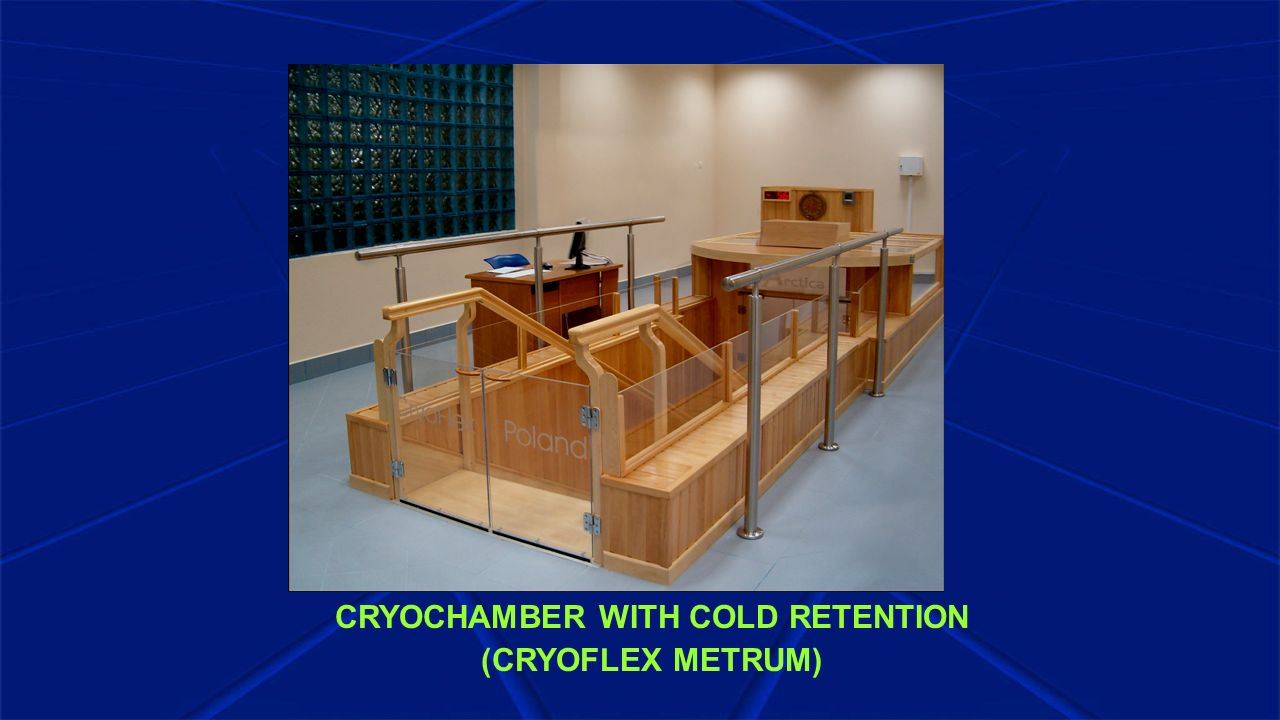 CRYOCHAMBER WITH COLD RETENTION (CRYOFLEX METRUM)
