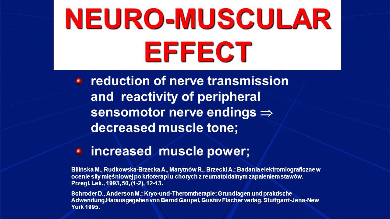 NEURO-MUSCULAR EFFECT