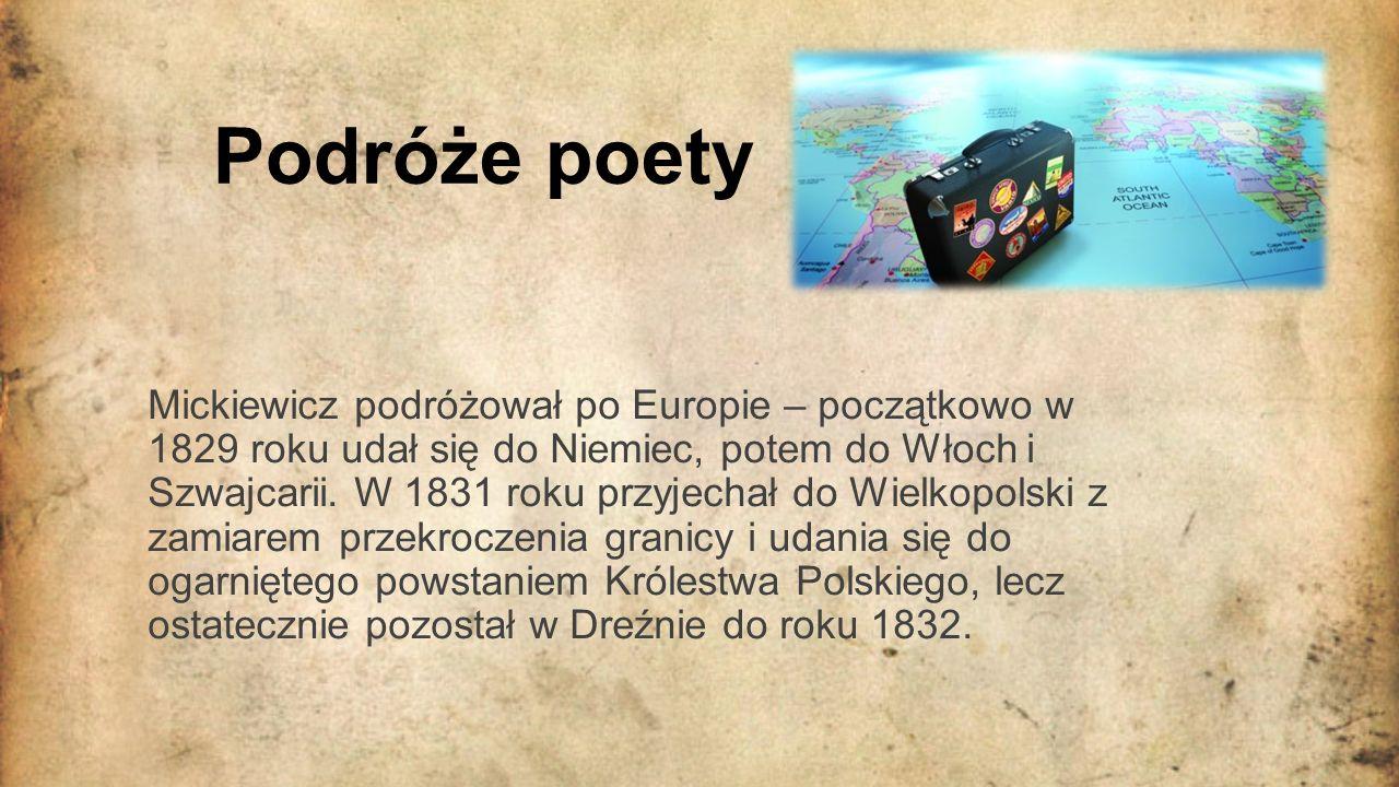 Podróże poety