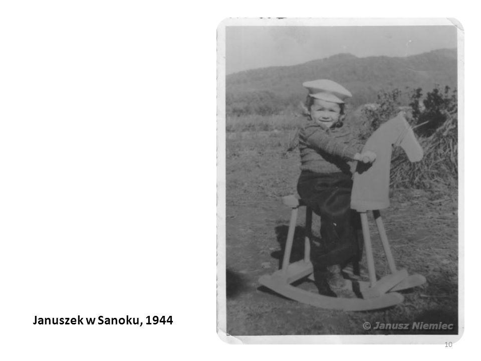 Januszek w Sanoku, 1944