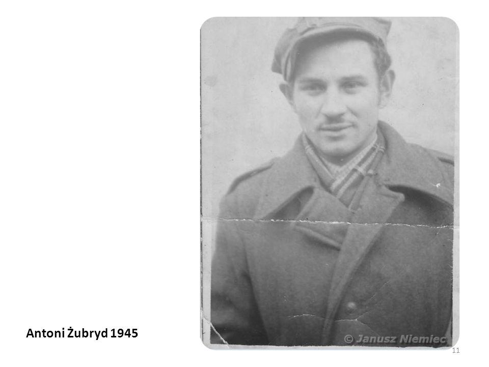 Antoni Żubryd 1945