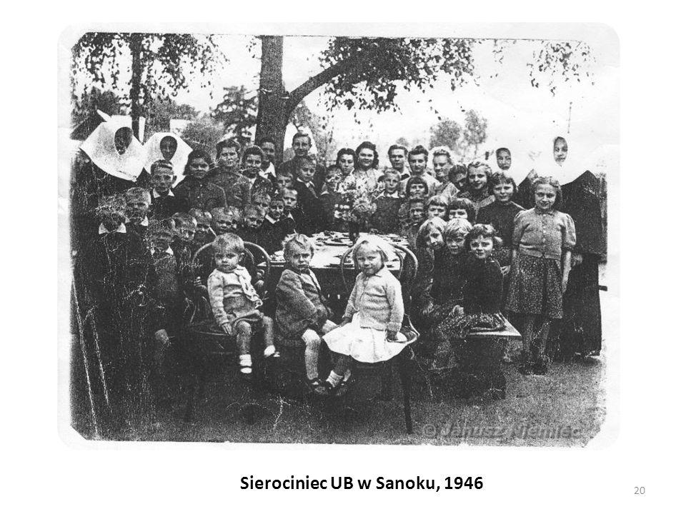 Sierociniec UB w Sanoku, 1946