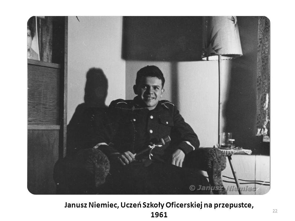 Janusz Niemiec, Uczeń Szkoły Oficerskiej na przepustce, 1961