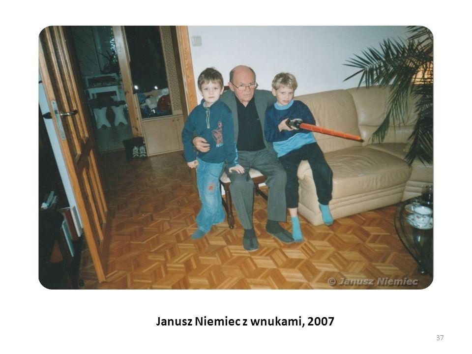 Janusz Niemiec z wnukami, 2007