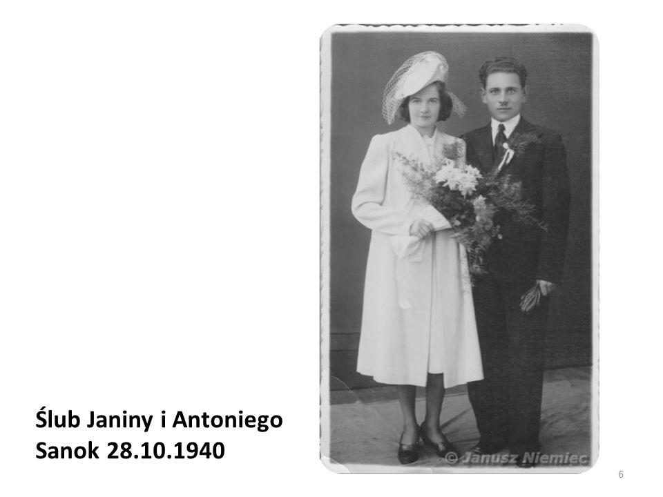 Ślub Janiny i Antoniego