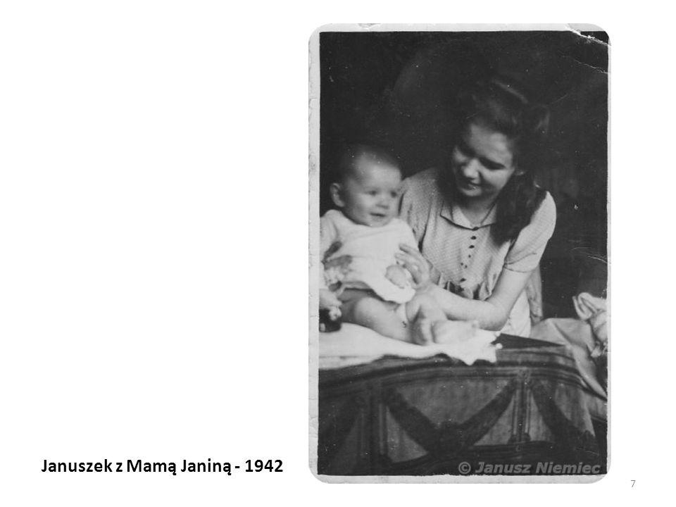 Januszek z Mamą Janiną - 1942