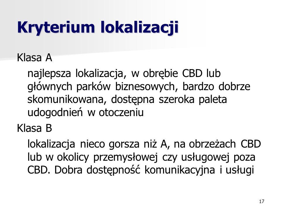 Kryterium lokalizacji