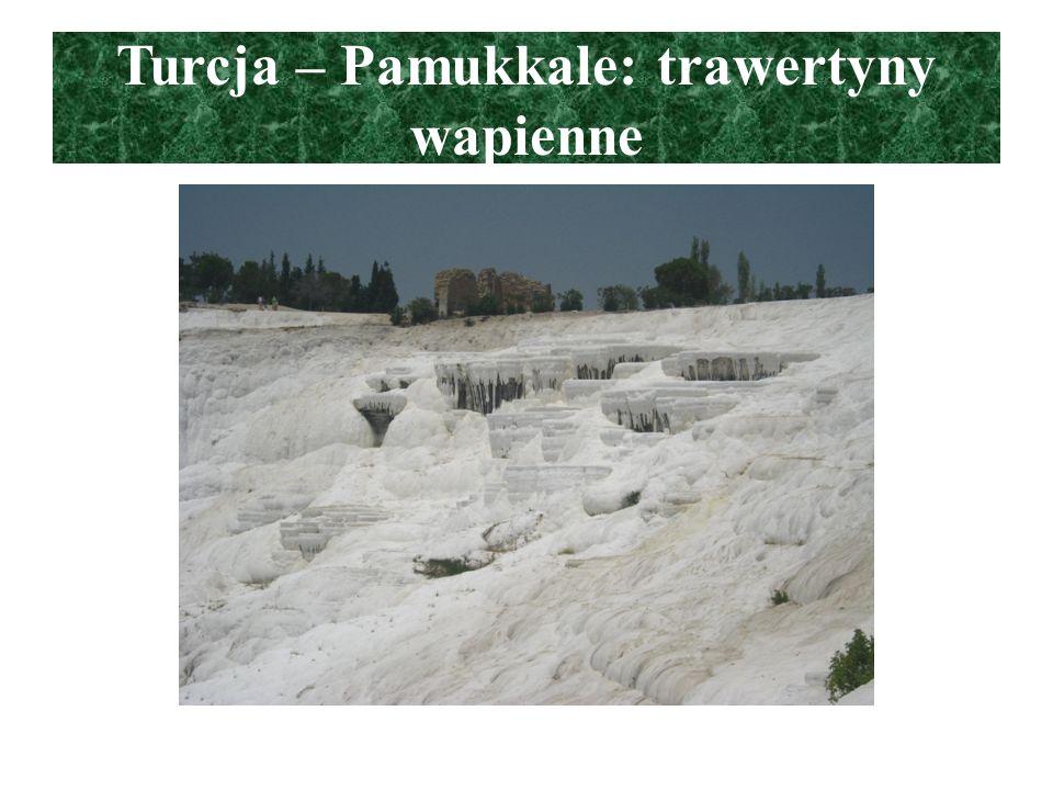 Turcja – Pamukkale: trawertyny wapienne