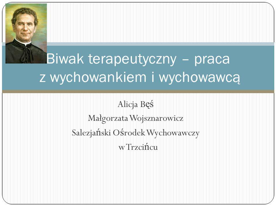 Biwak terapeutyczny – praca z wychowankiem i wychowawcą