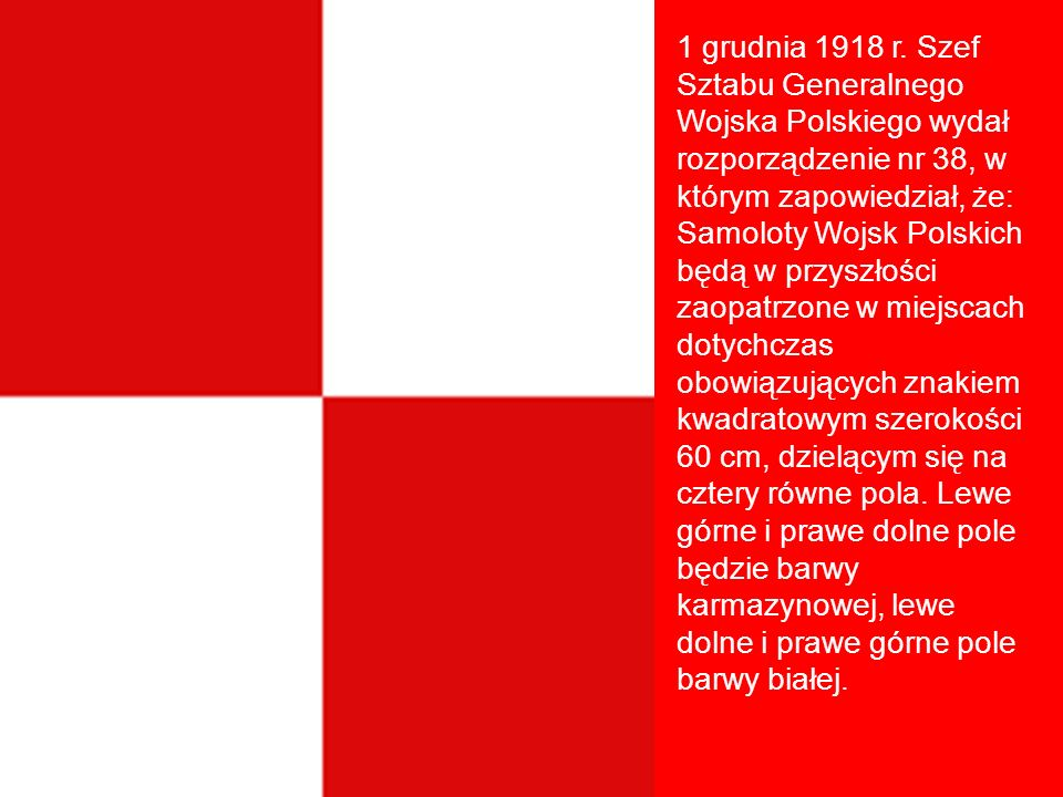 1 grudnia 1918 r.